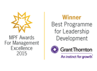 Best Programme for Leadership Development in 2015 - Grant Thornton